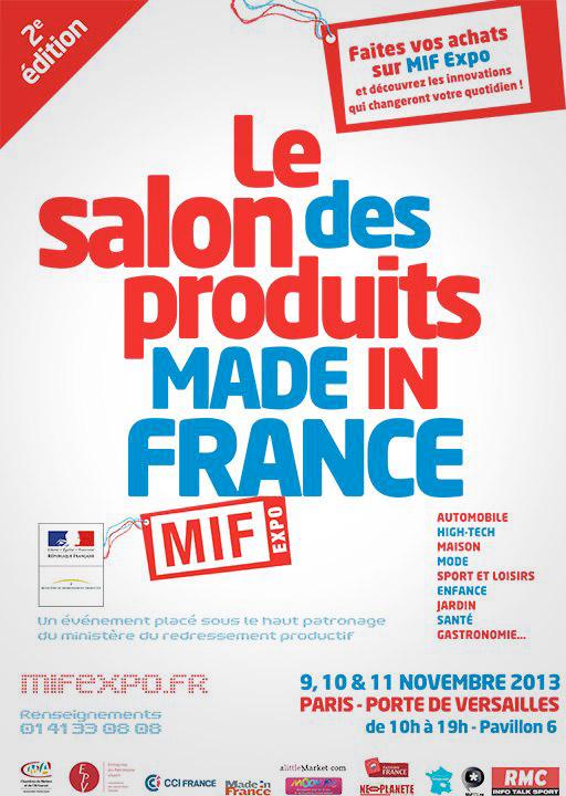 La 2 me dition de mif expo porte de versailles la for Mif expo le salon du made in france 10 novembre