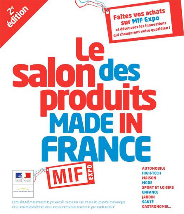 Mif expo 2014 ouvre ses portes demain paris la cr a for Mif expo le salon du made in france 10 novembre